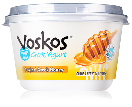Voskos Original Greek Honey 16oz Greek Yogurt