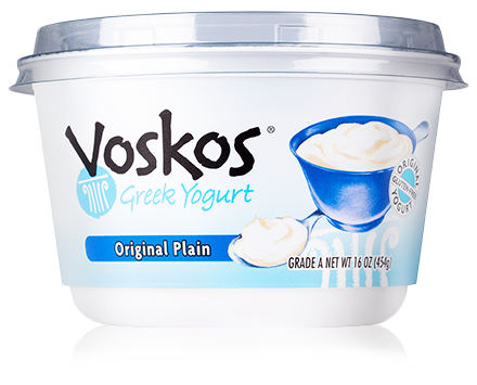 Voskos Original Plain 16oz Greek Yogurt