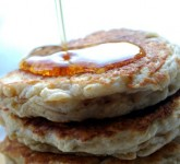 Greek Yogurt Banana Pancakes Recipe using Voskos Greek Yogurt