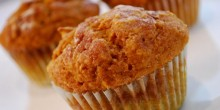 Pumpkin Muffins Recipe using Voskos Greek Yogurt