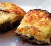 Better For You Moussaka Recipe using Voskos Greek yogurt