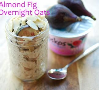 Almond Fig Overnight Oats