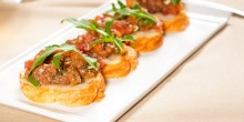 Apple-Onion Confetti Bruschetta Recipe