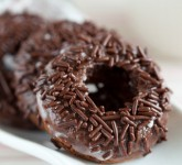 greek yogurt chocolate donuts