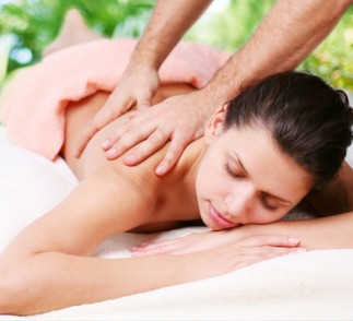 destress with massage