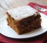 Greek Yogurt Gingerbread Cake Recipe using Voskos Greek Yogurt