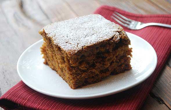 Greek Yogurt Gingerbread Cake | Voskos®