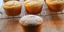 Greek Yogurt Muffins Recipe using Voskos Greek Yogurt
