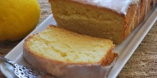 Greek Yogurt Lemon Pound Cake Recipe using Voskos Greek Yogurt
