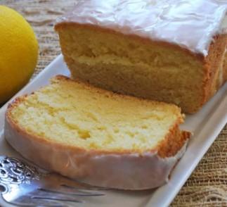 Greek Yogurt Lemon Pound Cake Recipe using Voskos Greek Yogurt