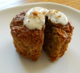 Oatmeal and Apple Muffins using Voskos Greek Yogurt