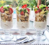 Maple Breakfast Parfaits Recipe