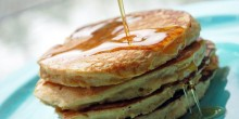 Greek Yogurt Pancakes Recipe using Voskos Greek Yogurt