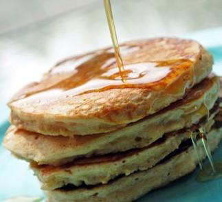 Greek Yogurt Pancakes Recipe using Voskos Greek Yogurt