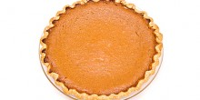 Greek Yogurt Pumpkin Pie using Voskos Greek yogurt