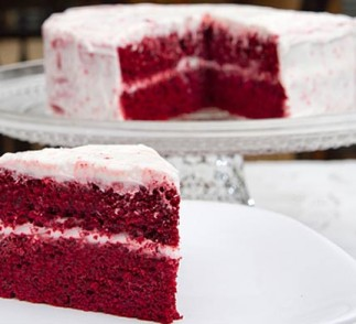 Red Velvet Cake using Voskos Greek Yogurt