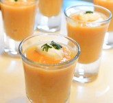 Spiced Butternut-Pumpkin Shooters Recipe