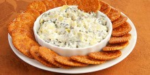 Spinach Artichoke Dip Recipe using Voskos Greek Yogurt