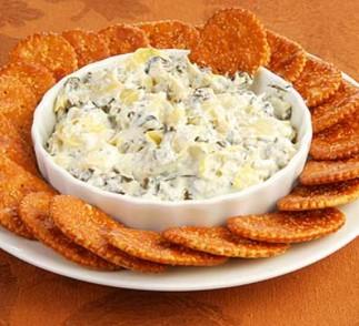 Spinach Artichoke Dip Recipe using Voskos Greek Yogurt