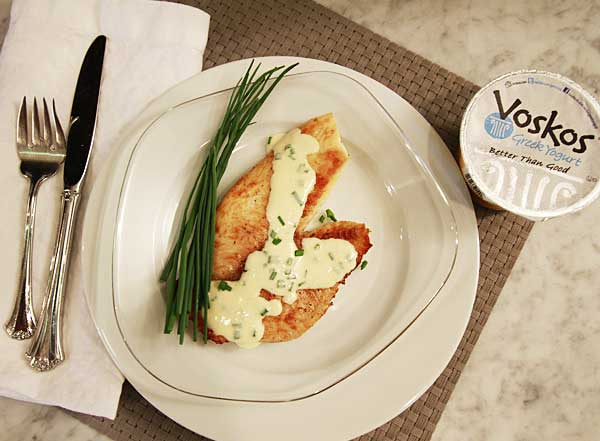 Tilapia With Greek Yogurt Mint Sauce Recipes — Dishmaps