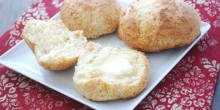 Greek Yogurt Honey Biscuits Recipe