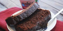Greek Yogurt Chocolate Raspberry Cake Recipe using Voskos Greek Yogurt