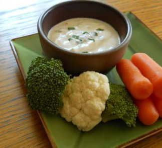 Yogurt Ranch Dip using Voskos Greek Yogurt