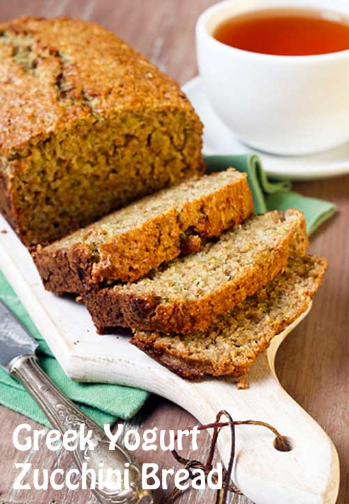 Greek Yogurt Zucchini Bread Voskos 174